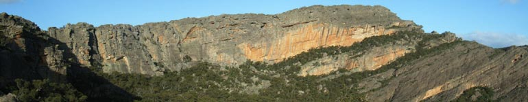 View of the Taipan Wall from Flat Rock